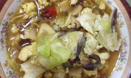 Resepi Sayur Campur yang Mudah tapi Lazat